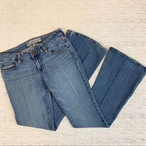 Bullhead Skinny Flare Blue Jeans